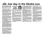 JDL has day in the Skokie sun
