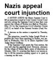 Nazis appeal court injunction