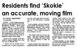 Residents find 'Skokie' an accurate, moving film