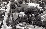 Aerial Photograph of St. Peters Catholic Church, pre-1952