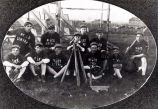 Niles Center Baseball Team Photograph, before 1914