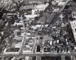 Aerial Photograph of Lincoln Avenue and Oakton Streets, early 1970s