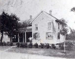 John and Barbara Kalmes and Residence Photograph, circa 1909