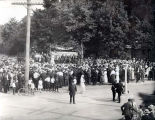 Womens Patriotic Service League Rally Photograph, 1918