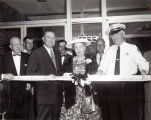 Skokie Police Department Building Dedication Photograph, 1950s