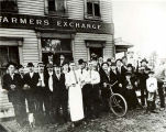 Farmers Exchange Tavern Photograph, circa 1910