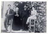 Samuel Meyer Family Portrait Photograph, circa 1900