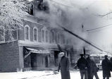 Blameuser Building Fire -- Crowd Photograph, 1940