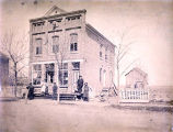 Paroubeks Harness Maker Building Photograph, 1884
