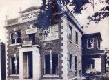 Bradley and Haben Funeral Home Construction Photograph, 1920s