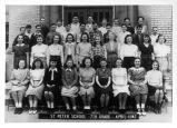 St. Peter Catholic School 7th Grade Class Photograph
