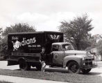American Legion Post 320 Drum & Bugle Corps Truck Photograph, 1954
