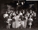 Ruby Klehm and Pearl Klehm Double Wedding Photograph, circa 1917