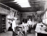 Gabel Workshop Interior Photograph, early 1900s