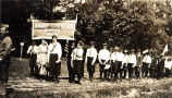 Sharp Corner School Parade Photograph, early 1900s