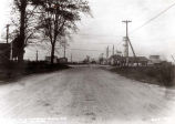 Niles Center Road and Dempster Street Intersection Photograph, 1926