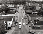 Lincoln Avenue South from St. Peter Church Steeple Photograph, 1960s
