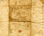 Hayes Letter 1832061501, Andrew Miller to William Hayes