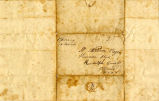 Hayes Letter 1835031101, Adam C. Wylie to William Hayes