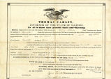 Hayes Legal Document LT18410601B, Land Transfer
