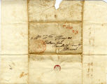 Hayes Letter 1838022001, Isaac Raymond to William Hayes