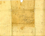 Hayes Letter 1845020701, James Hayes to William Hayes