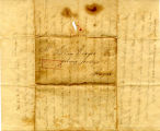 Hayes Letter 1827100101, Ursula Taylor to William Hayes