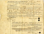 Hayes Legal Document LT18490317, Land Transfer