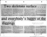 Two skeletons surface...and...