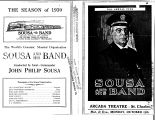 Sousa and His Band (front & back)