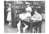St. John's School of Nursing Library 1958