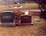 Bayliss Family, Sterling, Illinois, Tombstone of Hursch, Samuel