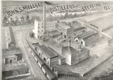 Business Individual,  Sterling, Illinois, John S. Miller & Co., Distillers