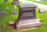 Charter Gas Engine Co., Sterling, Illinois, Charter Tombstone