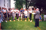 Churches, Sterling, Illinois, Coleta Church Rural Ministry goundbreaking