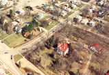 Dillon Home, Sterling, Illinois, Museum, aerial view
