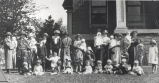 Hospitals, Sterling, Illinois, Mothers with babies born at Sterling Public Hospital in 1924