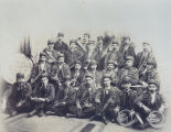 Keystone Band, Sterling, Illinois, Military Band, 6th Regiment, Uniforms, instruments