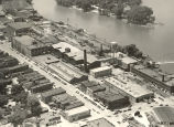 Aerial Photo, Rock Falls,  Illinois,  Downtown