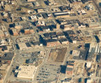 Aerial Photo, Sterling,  Illinois,  Urban renewal, Business district