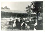 Mineral Springs, Sterling,  Illinois, Grandstand at Great Northwestern Fairgrounds