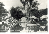 Mineral Springs, Sterling,  Illinois, Shoot the Chutes at the Great Northwestern Fairgrounds