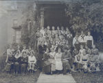People, Sterling, Illinois, Front row, extreme right, Daggett, Helen