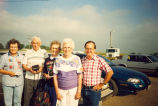 People-1990's, Sterling, Illinois, Mr. Cutter, 2nd fron left