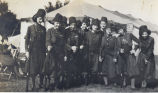 Zouaves, Lady, Sterling, Illinois, Drill Team, Uniforms, Arms & armament, Springfield,...