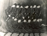 Zouaves, Lady, Sterling, Illinois, Clubs, Drill Team, Uniforms, Weapons