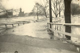 Rock River, Sterling, Illinois, Flood, Entrance to Lawrence Park