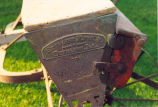 Grain Seeder, Sterling Manufacturing Co., Agricultural machinery & implements