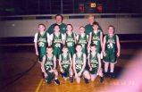 Basketball Team, St. Andrew Grade School, Sterling, Illinois