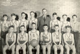 Basketball players 1946, lightweight champions, Sterling, Illinois